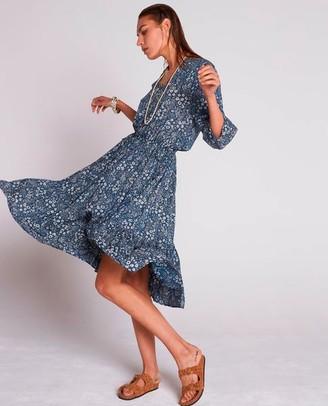 Swildens Bangkok Blue Dress - EU38 UK10