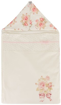 MonnaLisa Floral-Print Sleeping Bag