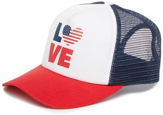 San Diego Hat America Graphic Mesh Trucker Cap