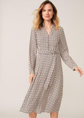 Phase Eight Nellie Geometric Print Dress