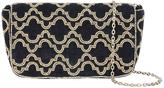 Accessorize Nolita Velvet Baguette Cross Body Bag
