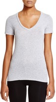 Splendid Very Light Jersey V-neck Tee