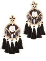 Mercedes Salazar Circulina Clip On Earrings