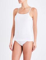 Sunspel Adjustable cotton-jersey camisole