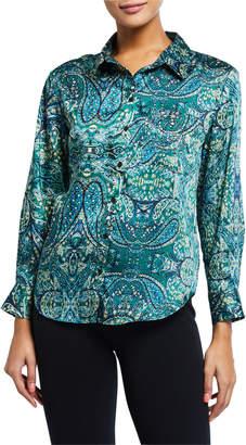 Velvet Heart Galiana Paisley-Print Button-Down Shirt