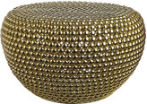 Pols Potten Low Dot Stool - Brass