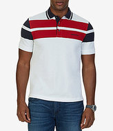 Nautica Classic-Fit Block Stripe Short-Sleeve Polo Shirt