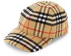 Burberry Men's Check Wool Cap