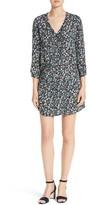 Veronica Beard Women's August Floral Print Silk Dress