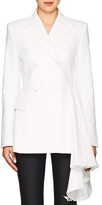 Off-White Off - White c/o Virgil Abloh Women's Asymmetric Double-Breasted Formal Jacket - White