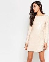 Motel Damitri Dress In Sequins