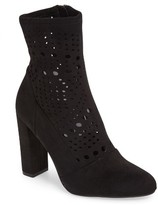 Steve Madden Women's Ennie Perforated Bootie