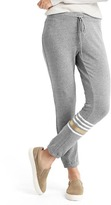 Gap Soft asymmetrical stripe leggings