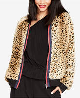 Rachel Roy Faux-Fur Bomber Jacket