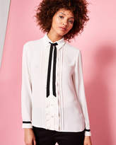 Ted Baker Frill front blouse