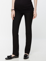 A Pea in the Pod Secret Fit Belly Tech Twill Straight Leg Maternity Pants