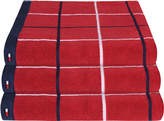 Tommy Hilfiger Red Checks Towel - Hand Towel