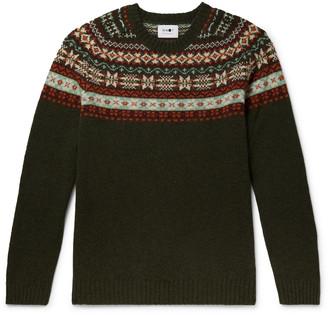 NN07 Fair Isle Wool Sweater