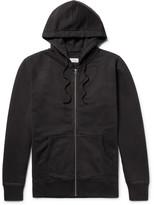 Saturdays NYC JP Fleece-Back Cotton-Jersey Zip-Up Hoodie