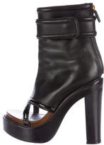 Givenchy Cutout Platform Ankle Boots
