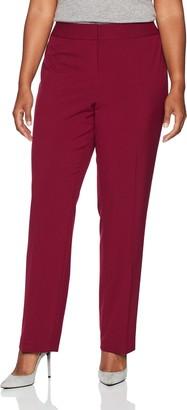 Nine West Women's Plus Size Bi Stretch Trouser Pant