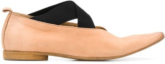 UMA WANG Elasticated Strap Loafers