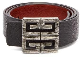 7eab943eab 4g Logo Buckle Reversible Leather Belt - Mens - Black Brown