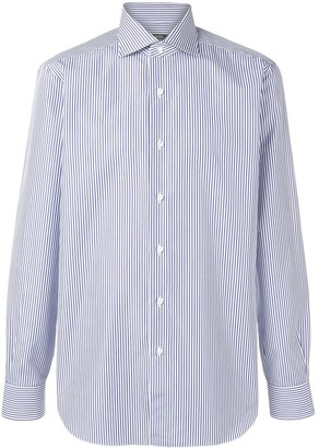 Barba Pencil Stripe Shirt