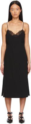 La Perla Black Silk Mid-Length Dress