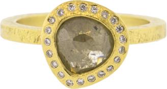 Todd Reed Fancy Cut Pear Shape Diamond Ring