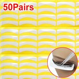 TOOGOO(R) 50 Pair Lint Free Under Eye Gel Collagen Patches Pads For Lash Eyelash Extension