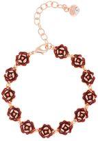 Ted Baker Elicia red enamel rose bracelet
