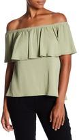 Ppla Rami Off-the-Shoulder Shirt