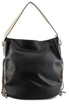 MG Collection Janna Tassel Slouchy Women Synthetic Black Tote.