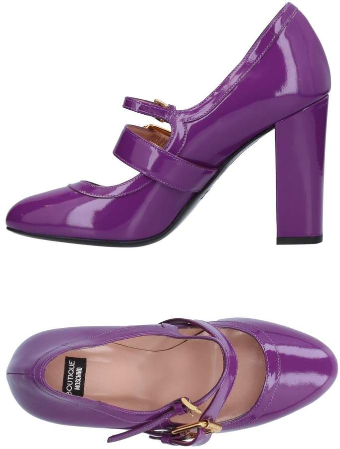ba05edaa5ea Moschino Purple Women's Shoes - ShopStyle