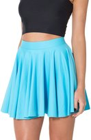 Chouyatou Women's Basic Stretched Versatile Jersey Circle Cheerleader Skater Skirts