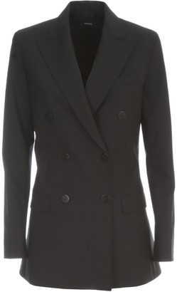 Theory Classic Double Breasted Blazer
