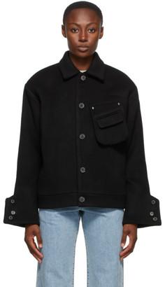 Ader Error Black Wool Menard Jacket