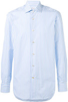 Kiton striped shirt - men - Cotton - 38