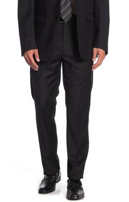 "Calvin Klein Solid Black Suit Separates Pants - 30-34"" Inseam"