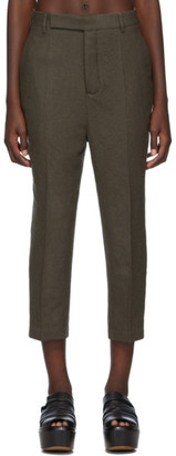 Rick Owens Grey Easy Astaires Trousers