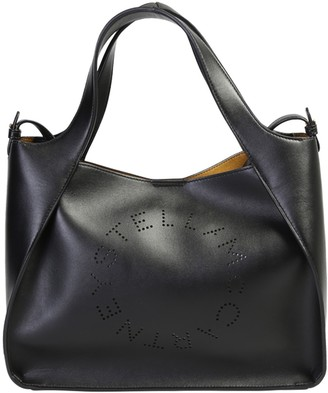 Stella McCartney Logo Top Handle Tote Bag