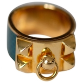 Hermes Collier de chien yellow gold ring