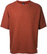 Factotum textured knit T-shirt - men - Cotton - 48