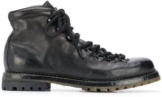 Premiata Lace-Up Mountain Boots