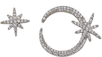 Eye Candy Los Angeles Eye Candy La 1 Star Cz Crystal Stud Earring