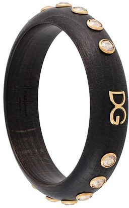 Dolce & Gabbana Crystal-Embellished Bangle