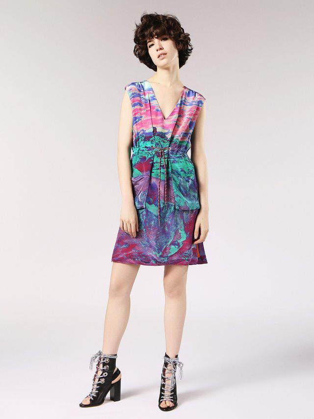 Diesel Dresses 0JARI - Pink - M