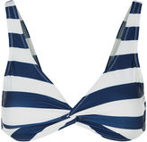 Solid & Striped Navy & Cream Striped Jane Top