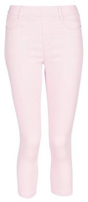 Dorothy Perkins Womens Pale Pink 'Eden' Super Soft Cropped Jeggings, Pink